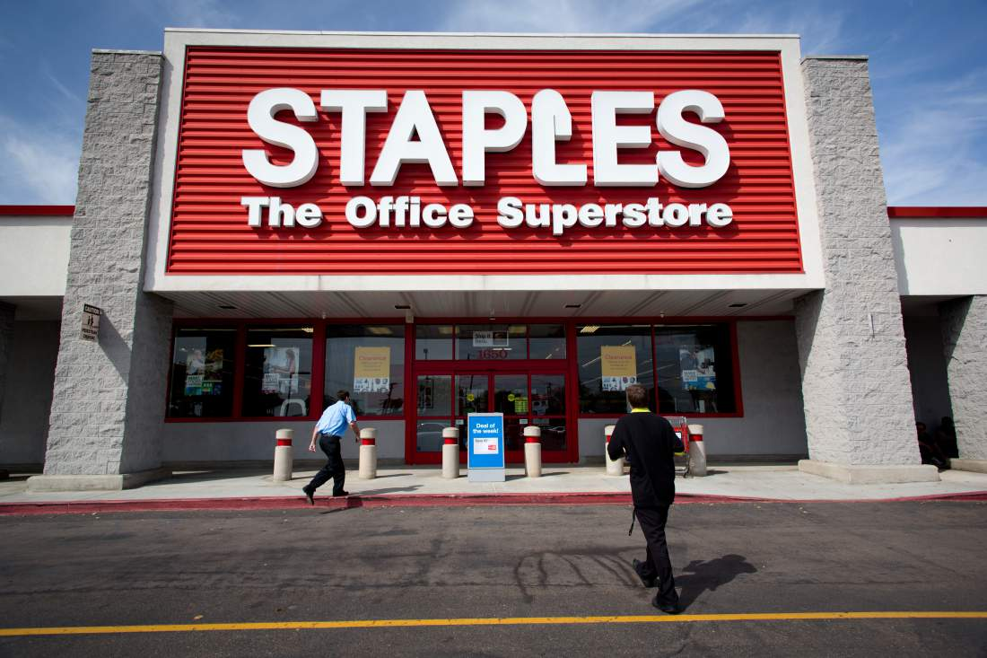 the marketing plan of staples an american office supply company