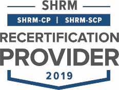 SHRM Recertification Provider Seal 2019